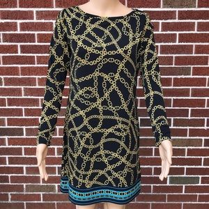 MICHAEL Michael Kors Chain Print Shift Dress